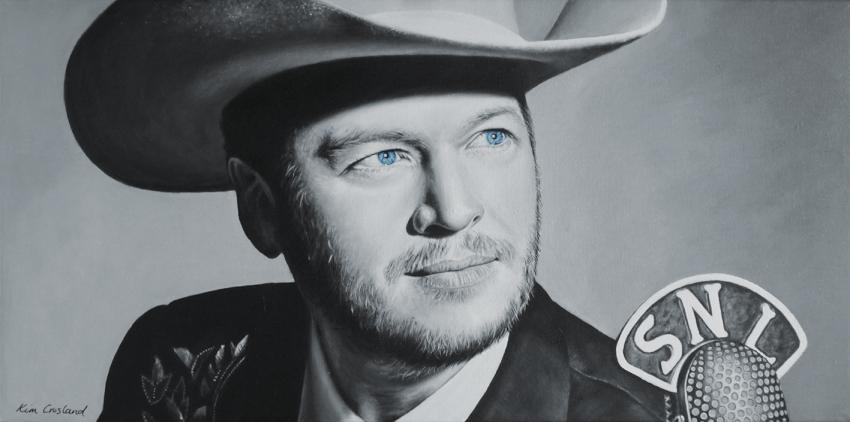 Blake Shelton by chaosart